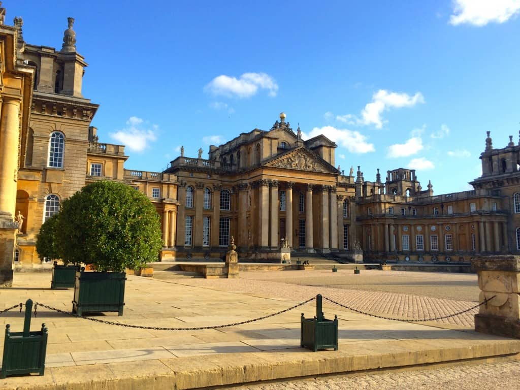 Blenheim Palace, Churchill's childhood home