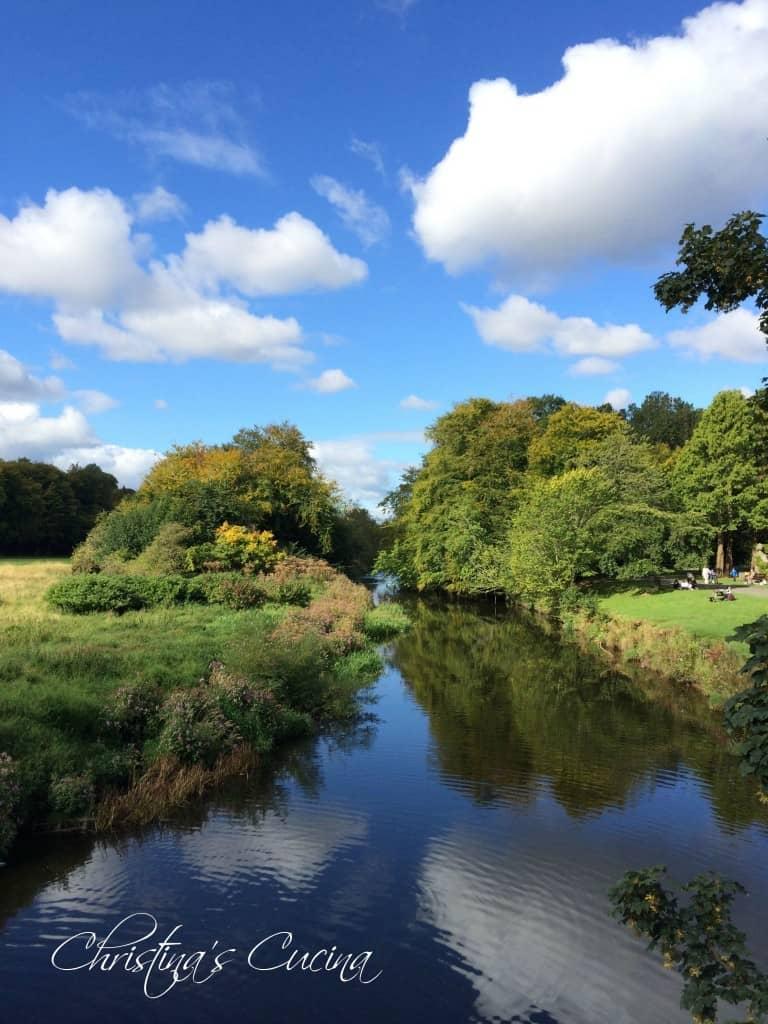 scotland, river, pollok house, national trust