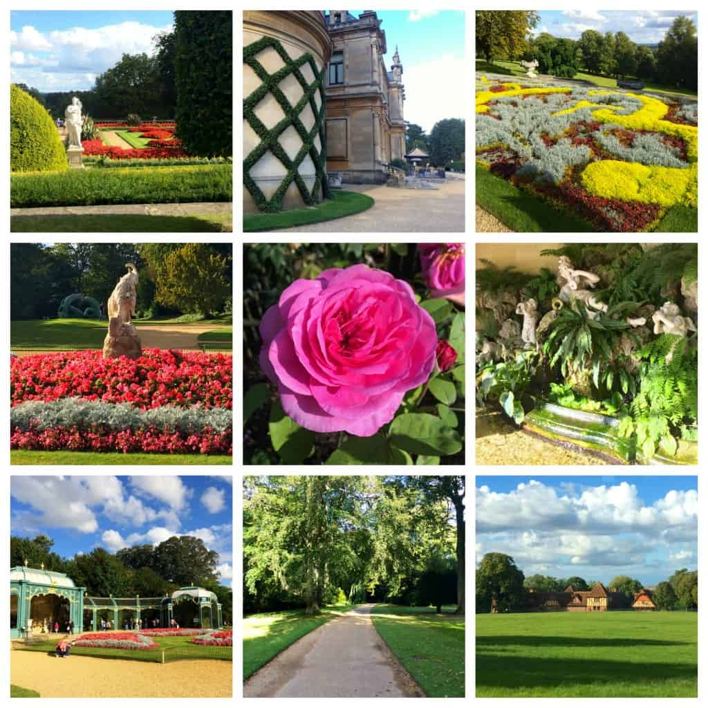 Waddesdon Manor Gardens in England