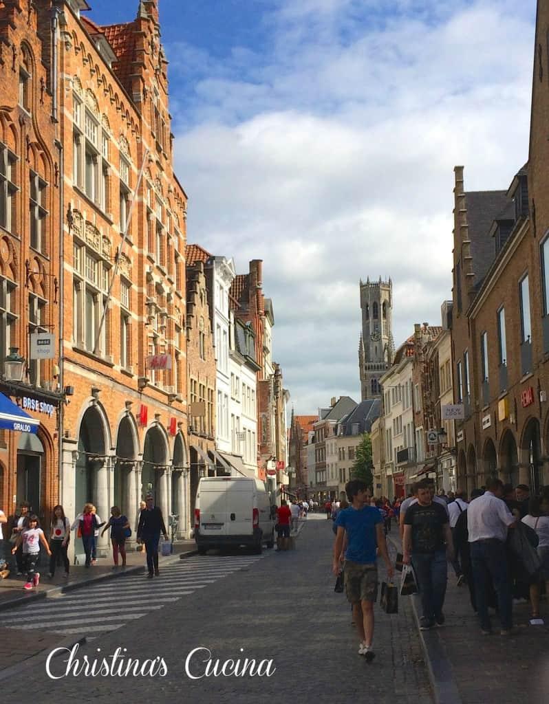 street in Bruges