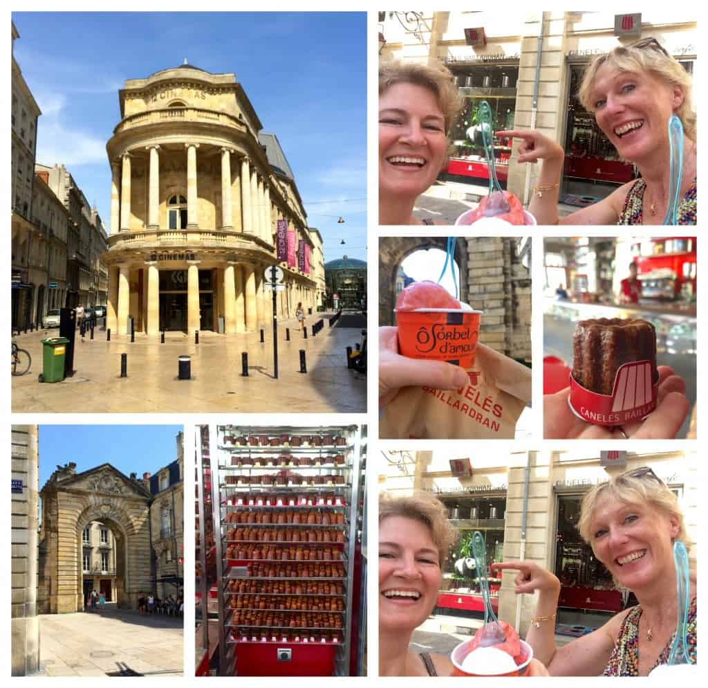Fun with Jill in Bordeaux collage