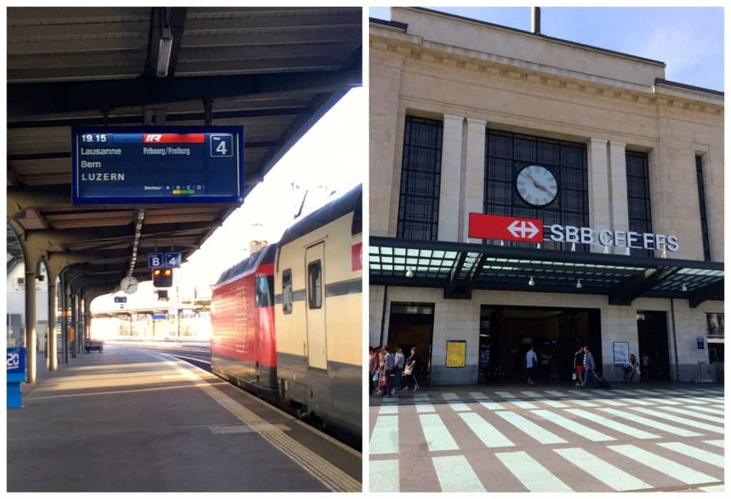 Geneva train station