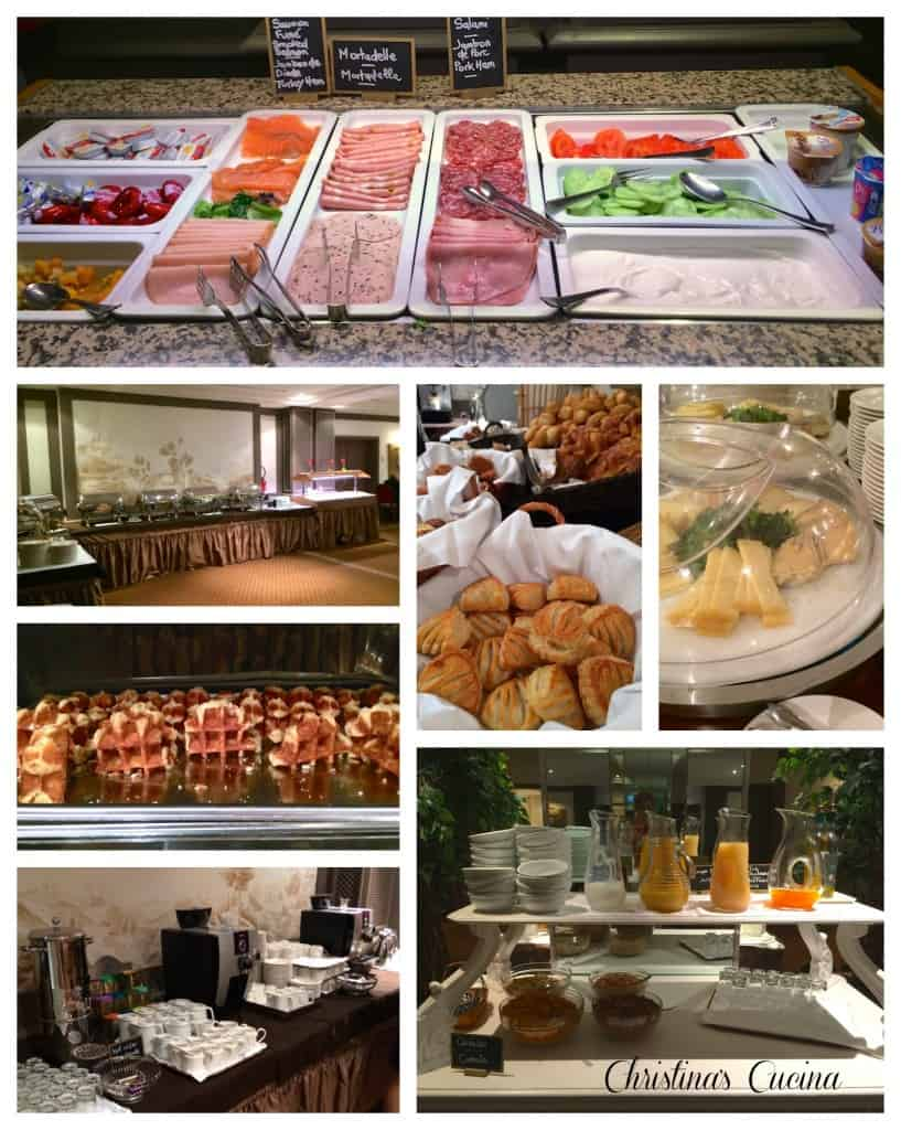 Hotel Royal breakfast buffet Christinas Cucina