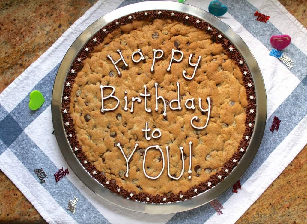 birthday cookie by Christina's Cucina
