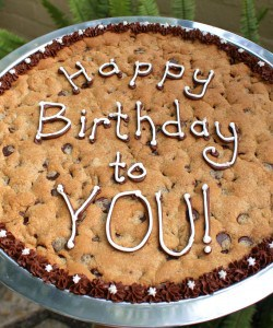 Tired of Birthday Cake? Make a Chocolate Chip Birthday Cookie or Brownie (A Cake Alternative)