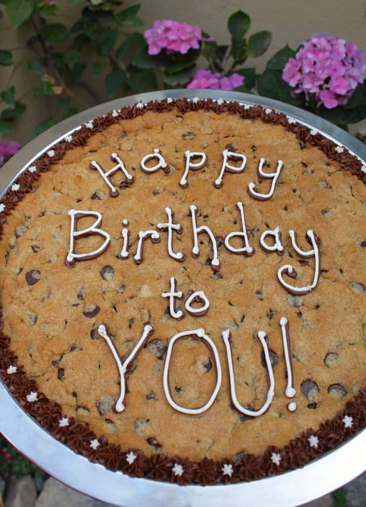 Happy Birthday to You Cookie Christina's Cucina