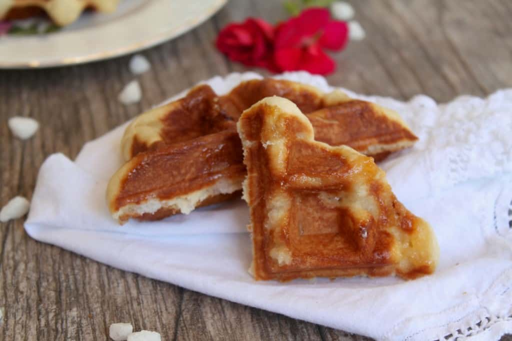 Authentic Belgian Waffle Recipe Liege Traditional