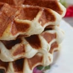 A Super Lekker, Authentic (Traditional) Belgian Waffle Recipe and a Day Trip to Bruges!