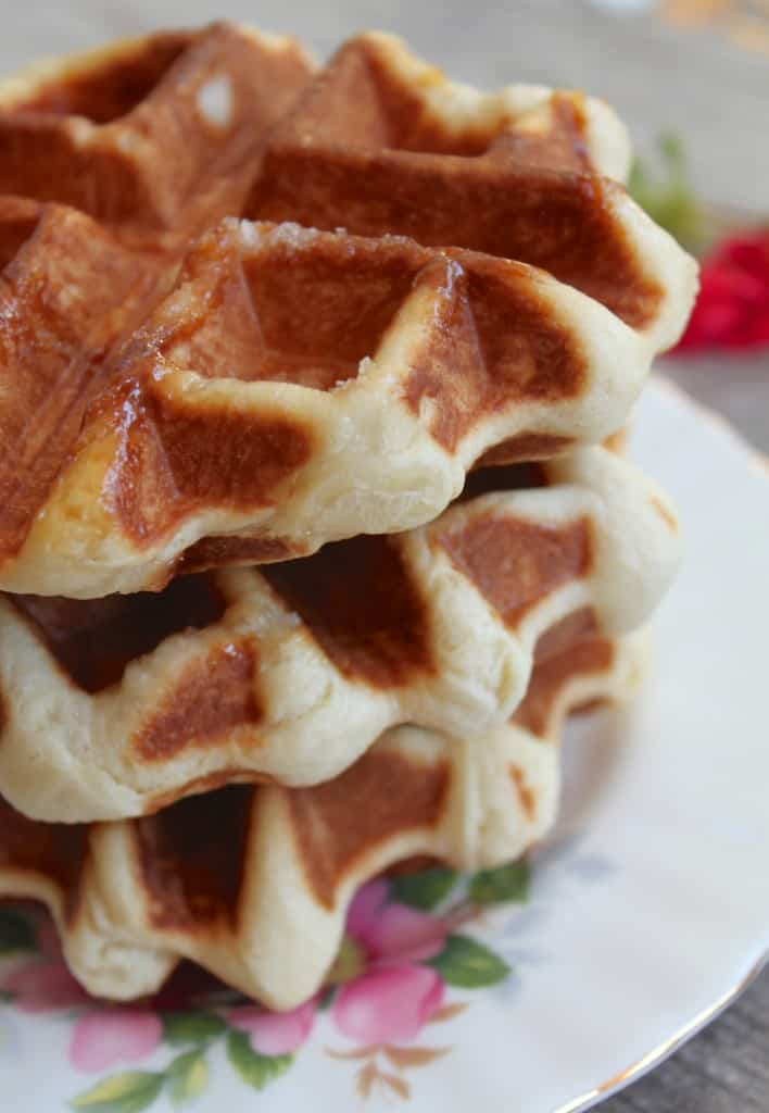 Three Belgian Waffles