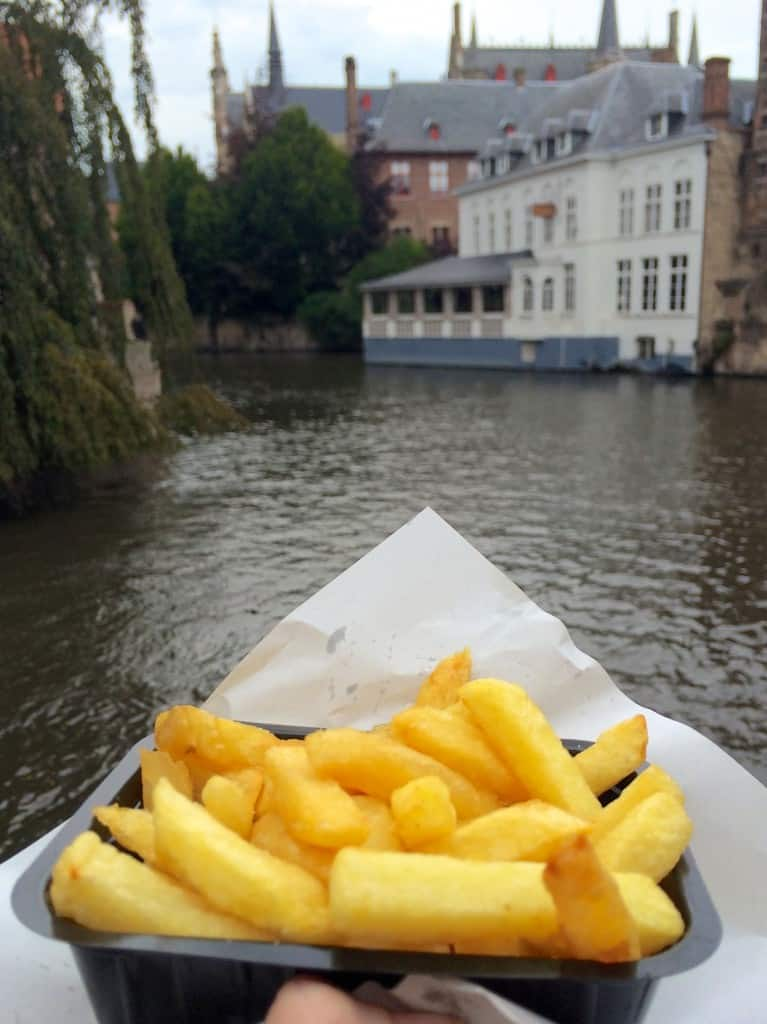 Fries in Bruges