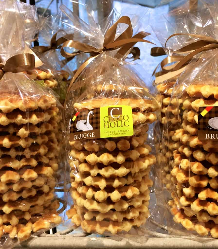 Belgian Waffles in packages