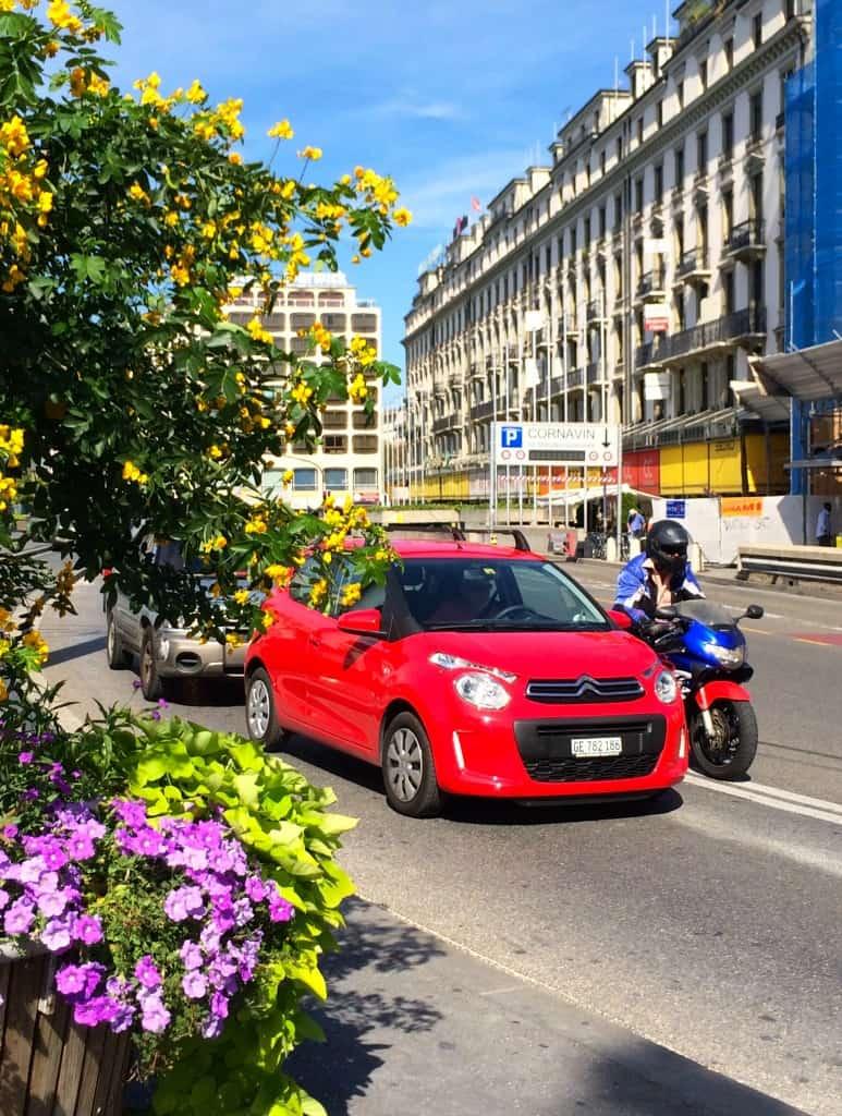 Sunny day in Geneva