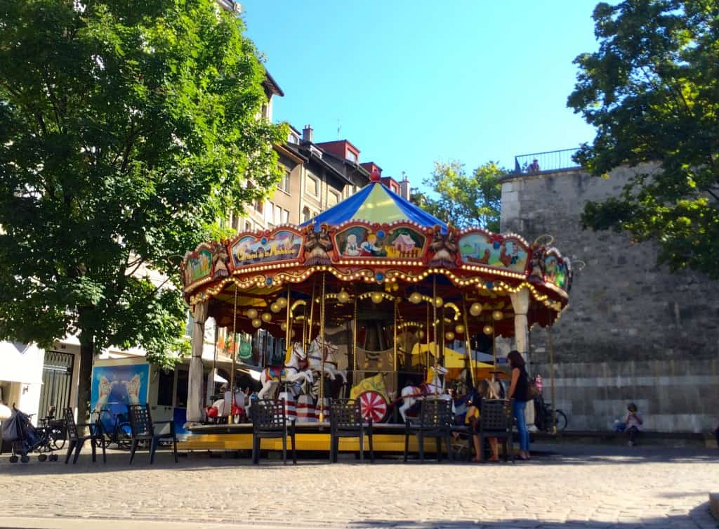 Carousel in Geneva