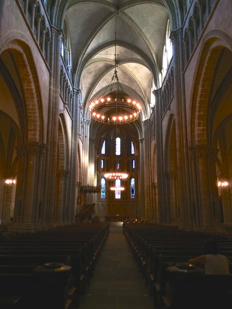 Interior St Peters Cathedral
