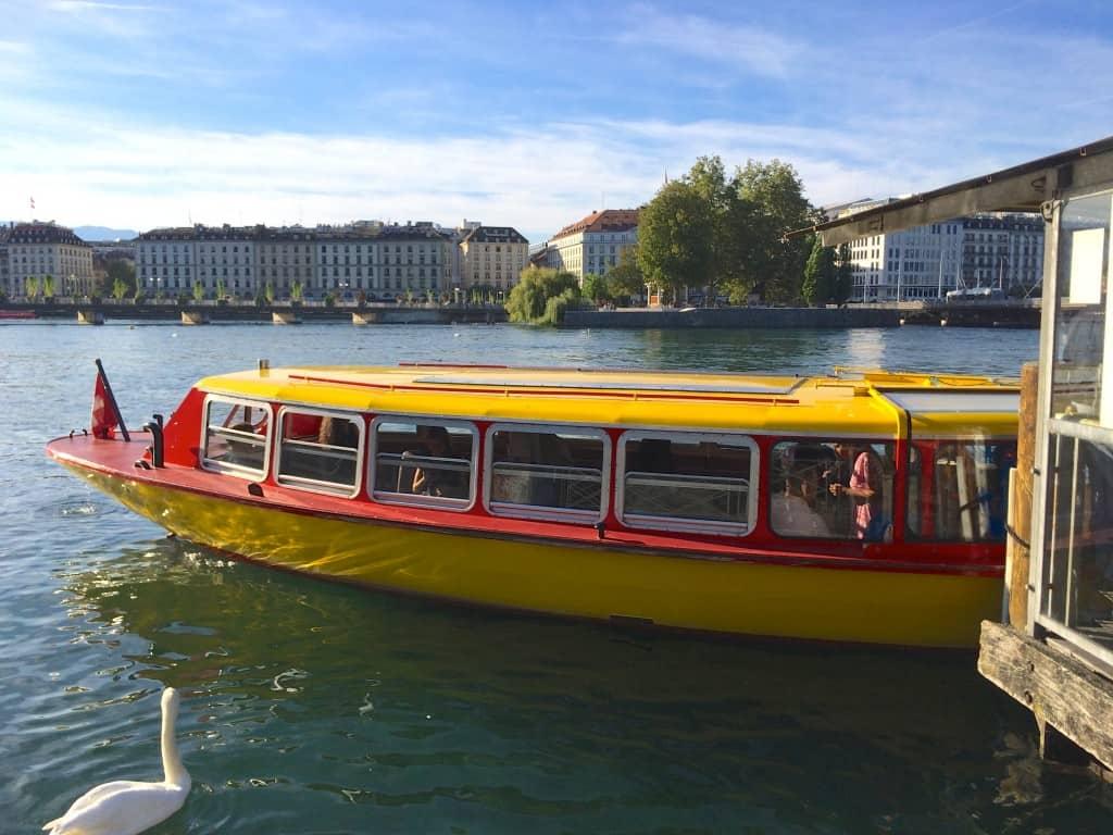Mouette on Lake Geneva
