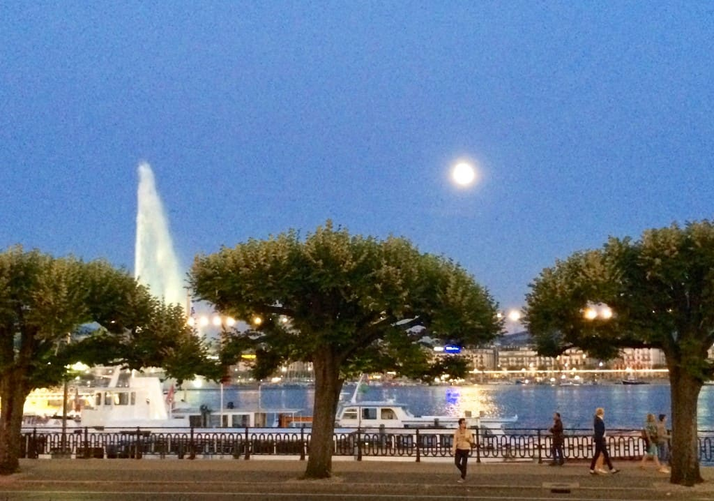 Lake Geneva by moonlight Christina's Cucina