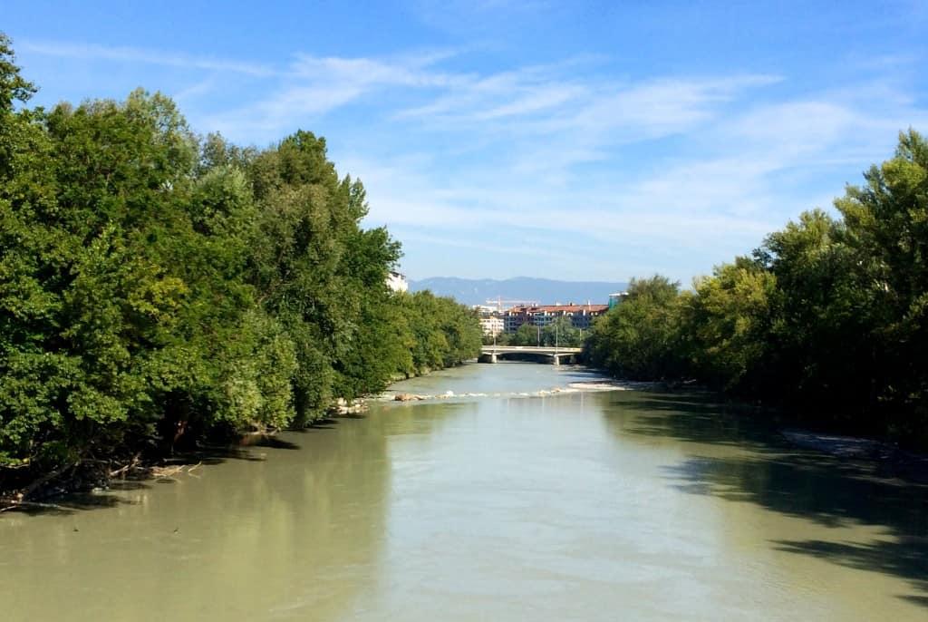 Arve River Geneva