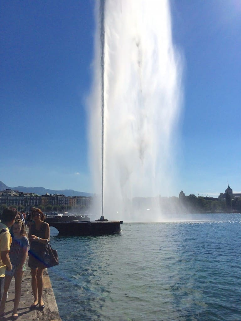 Water Jet in Geneva