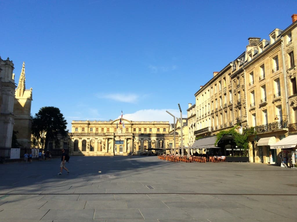 square in Bordeaux