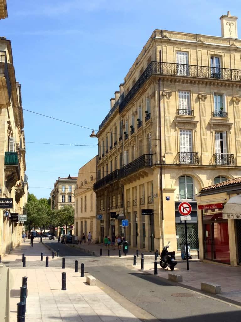 Street in Bordeaux