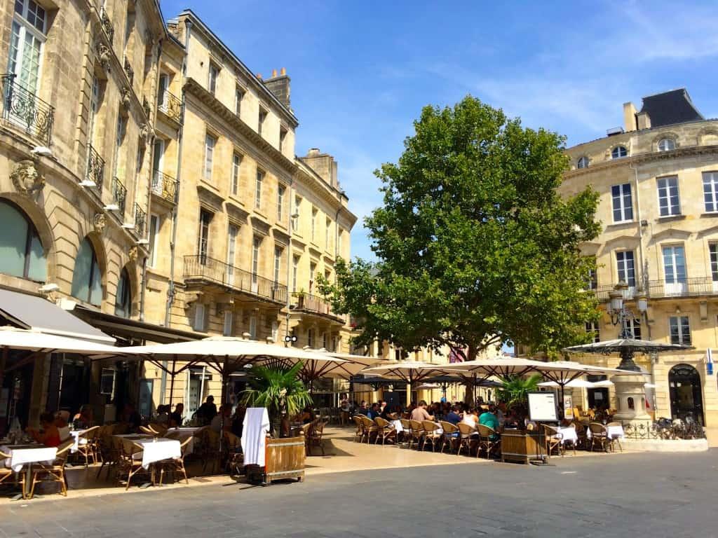 Cafes in Bordeaux