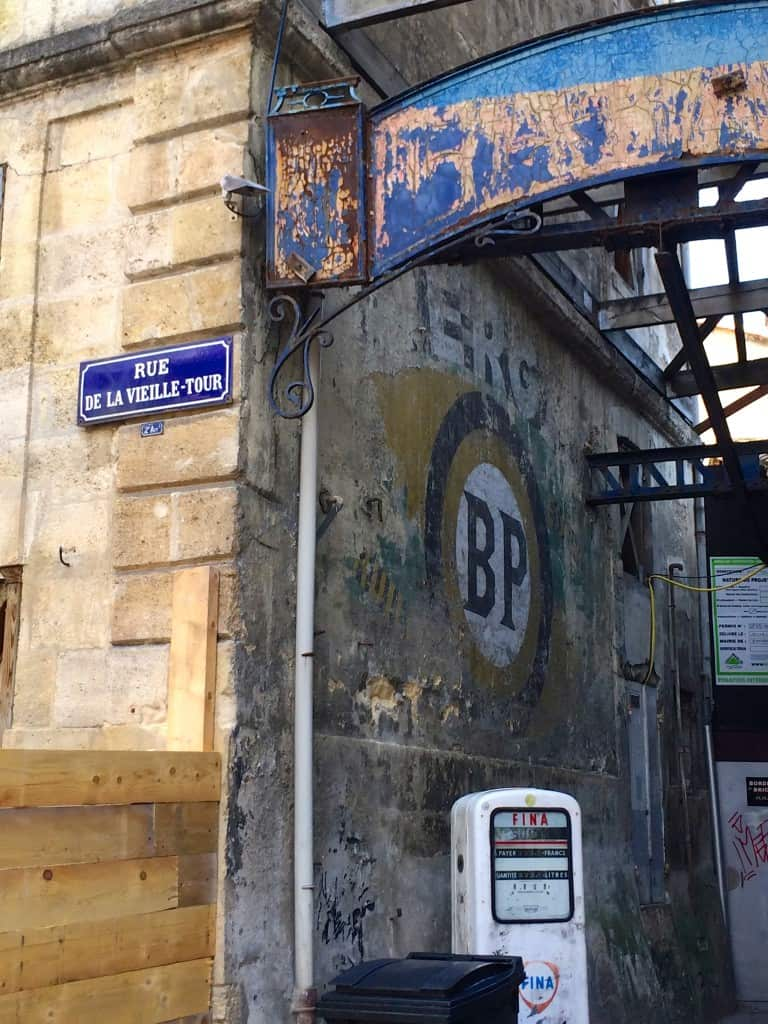 Street scene in Bordeaux Christina's Cucina