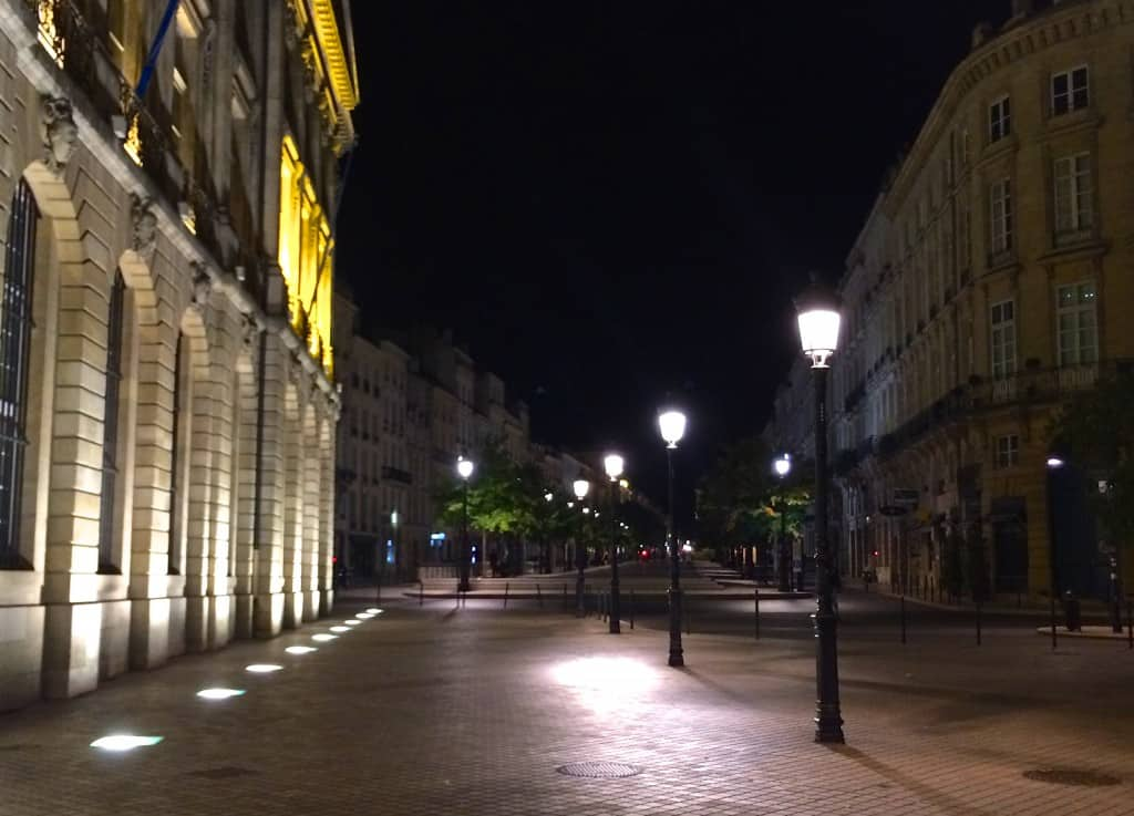 Empty streets of Bordeaux Christina's Cucina