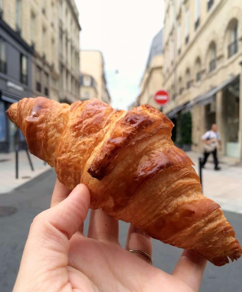 croissant in Bordeaux Christina's Cucina