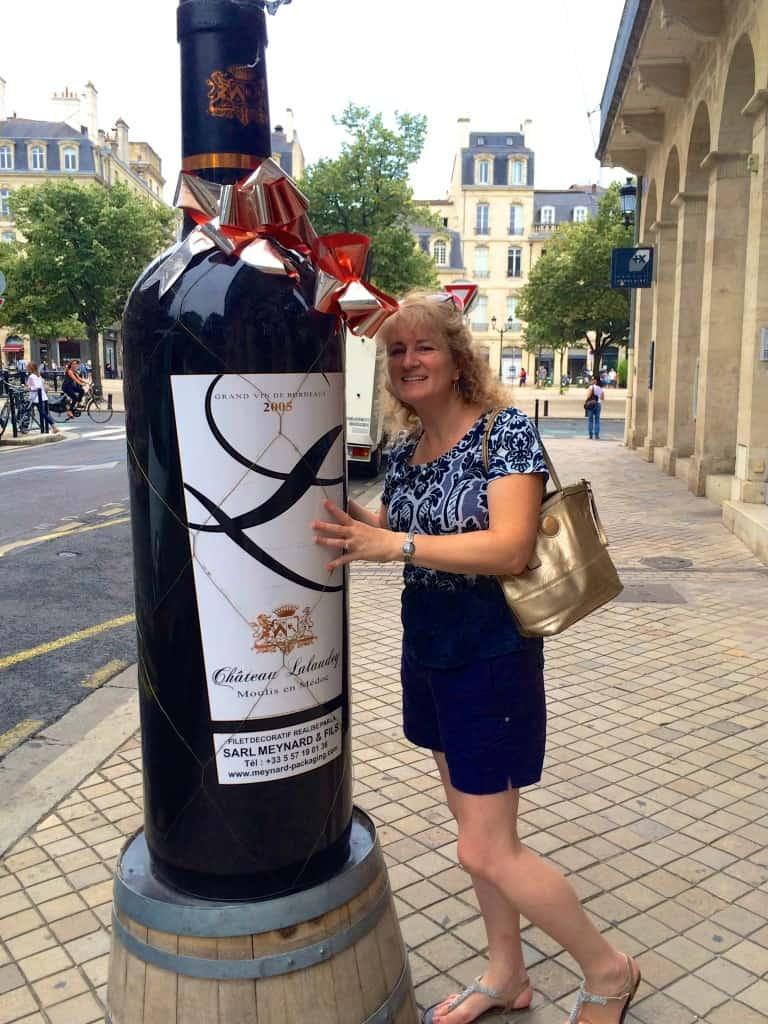 Christina's Cucina large bottle wine