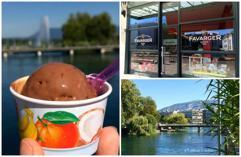 Ice Cream in Geneva from Favarger
