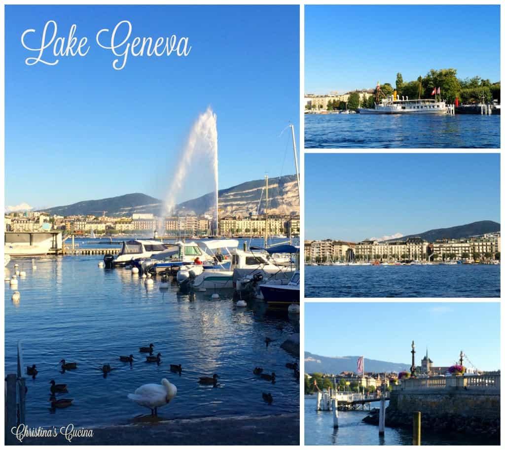 Lake Geneva collage