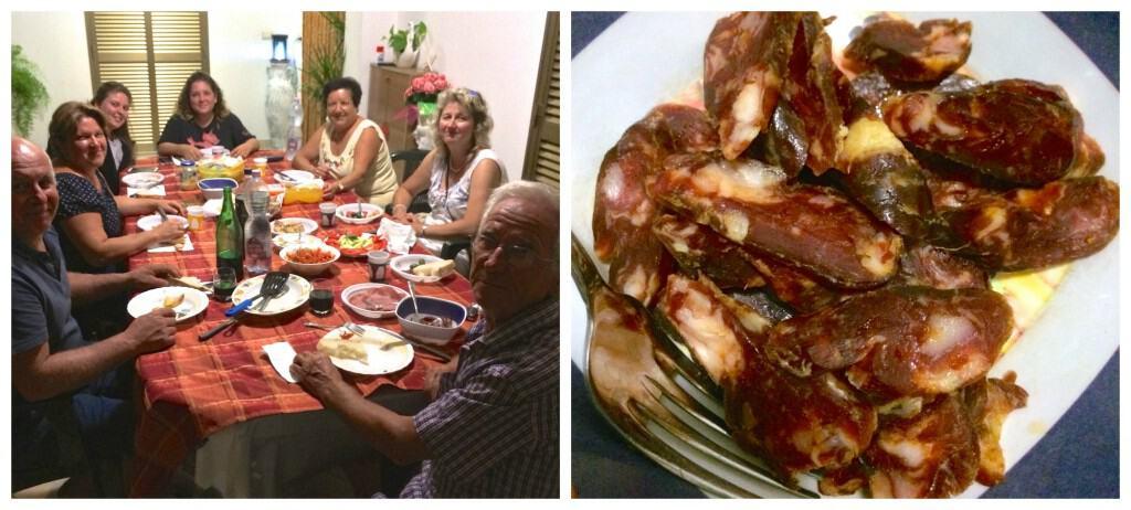 Dinner in Terracina