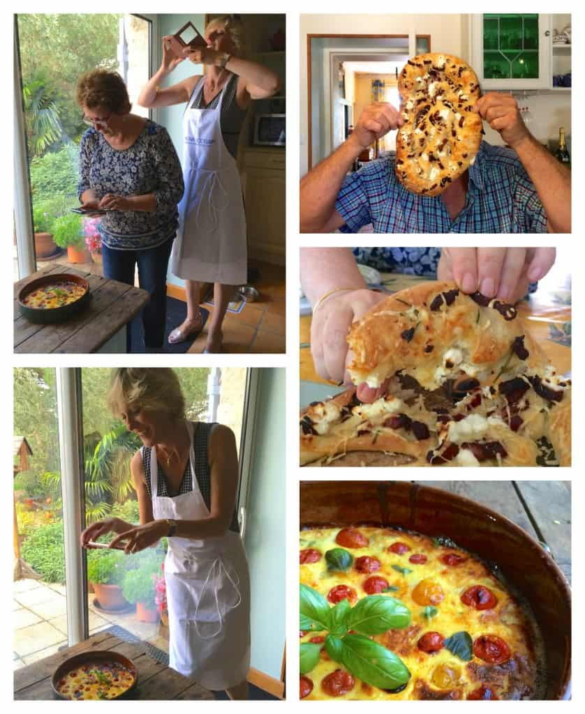 Fougasse collage