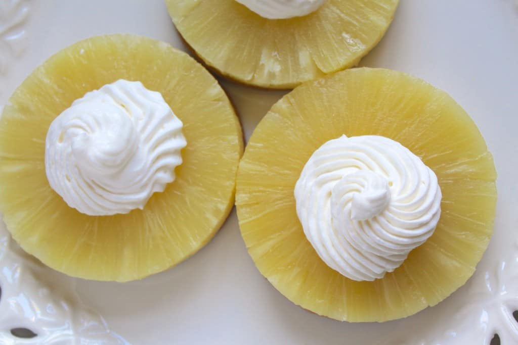 Pineapple Cream Digestive Delights no cook
