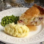 Chicken, Brie and Cranberry Pie and a Day in Battle and Bexhill, England