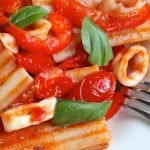 A Recipe for Paccheri con Sugo di Mare (Pasta with Seafood Sauce) and A Drive from Rome to Sperlonga