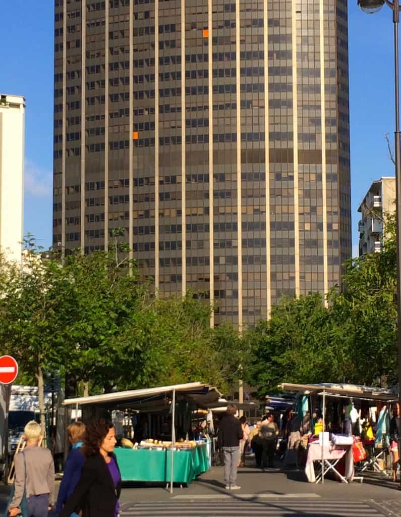 Montparnasse Market and Tower