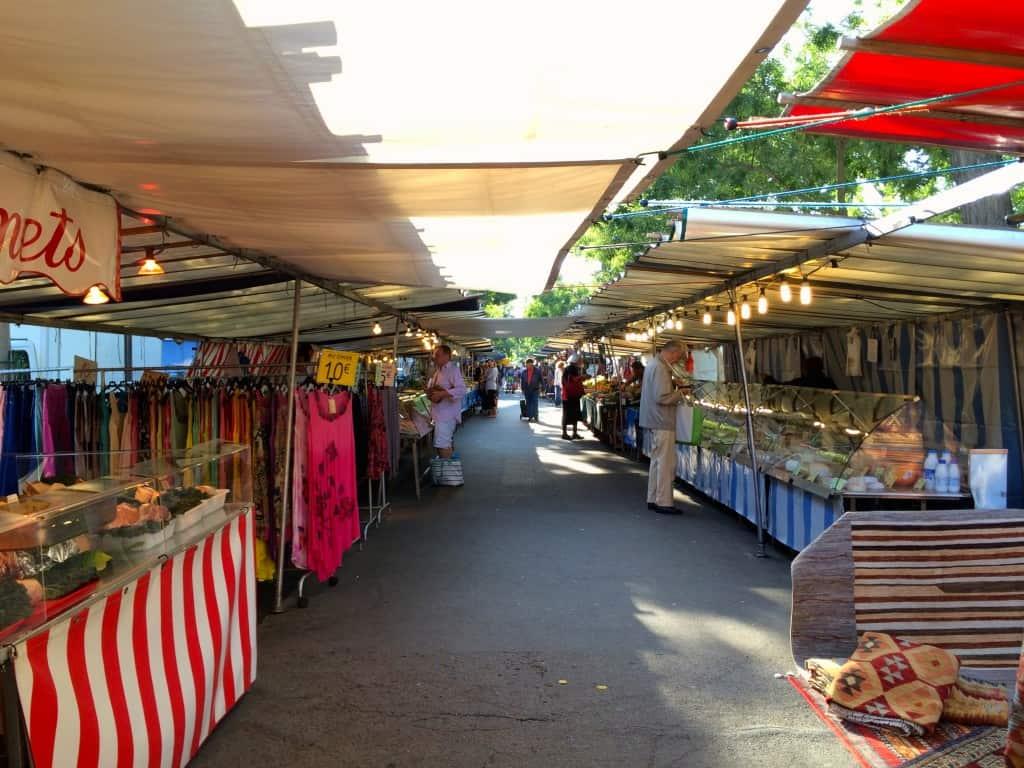 Market in Montparnasse