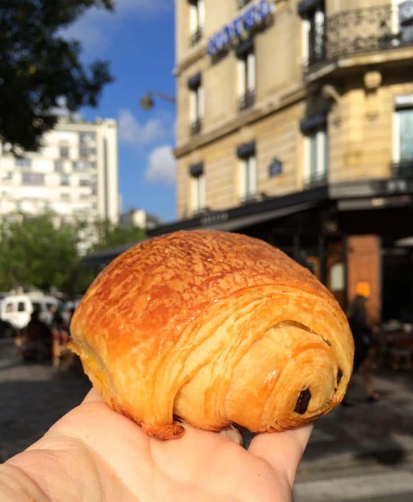 Chocolate Croissant in Paris Christina's Cucina