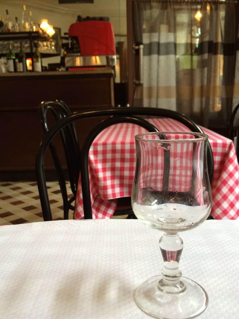 Au Babylone Restaurant in Paris, Christina's cucina