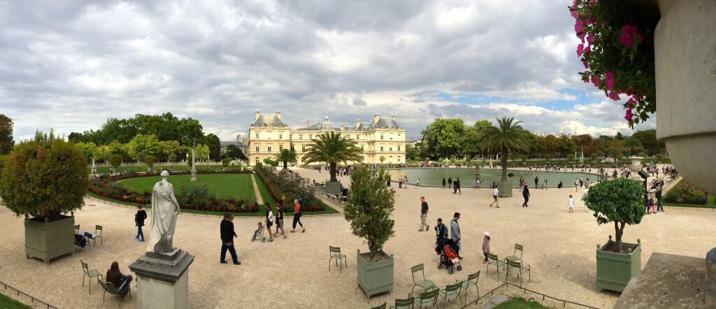 Panorama in Paris