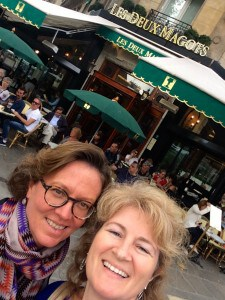 Mary and Christina in Paris