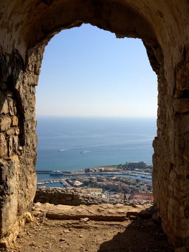 Terracina arch view