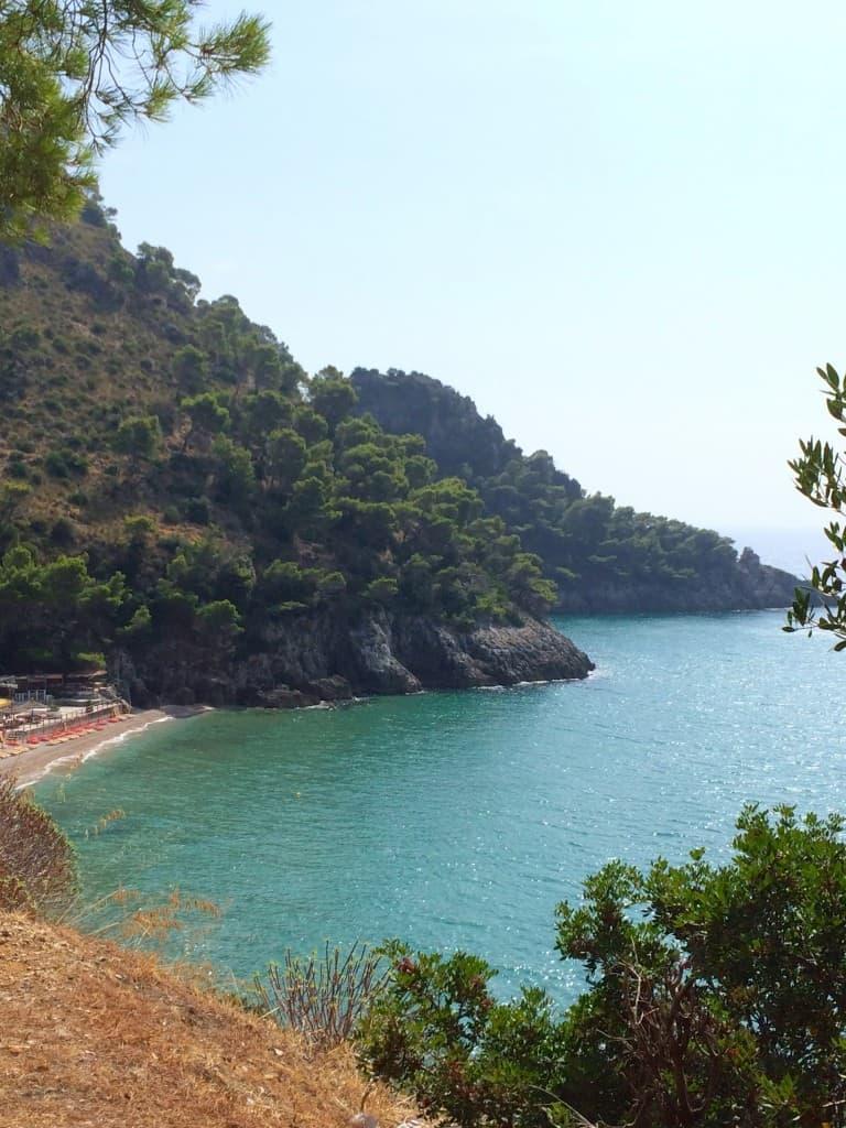 Coast view near Terracina, Italy