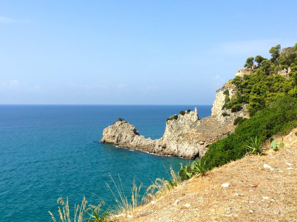 Coast near Terracina, Italy