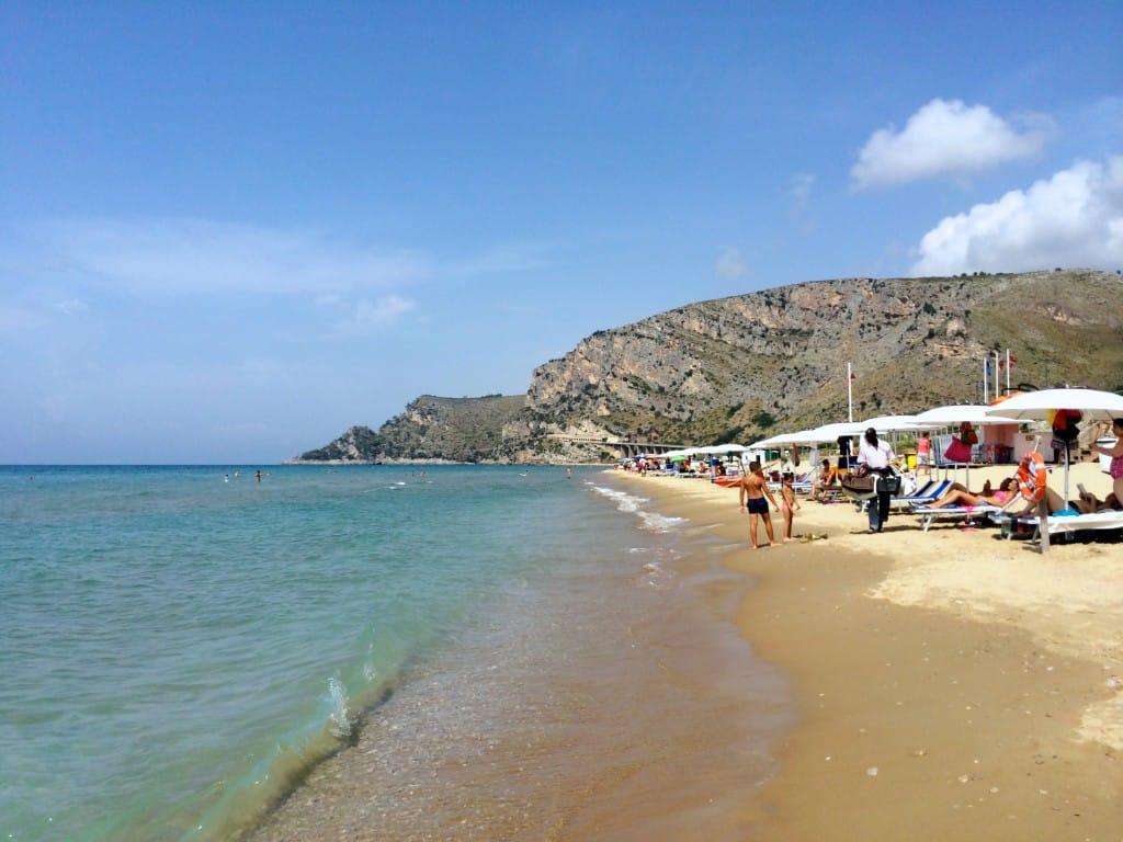 Beach near Gaeta, Italy
