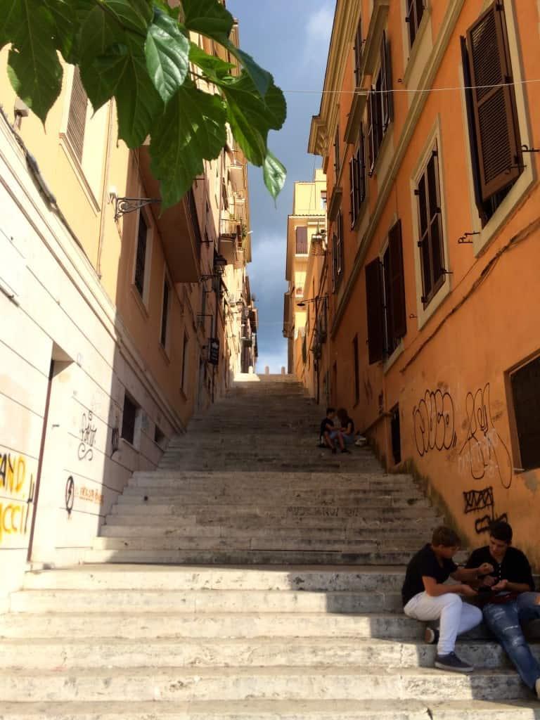 Steps in Frascati