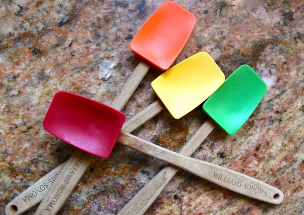 Mini Spatulas are great to have on hand in the kitchen!