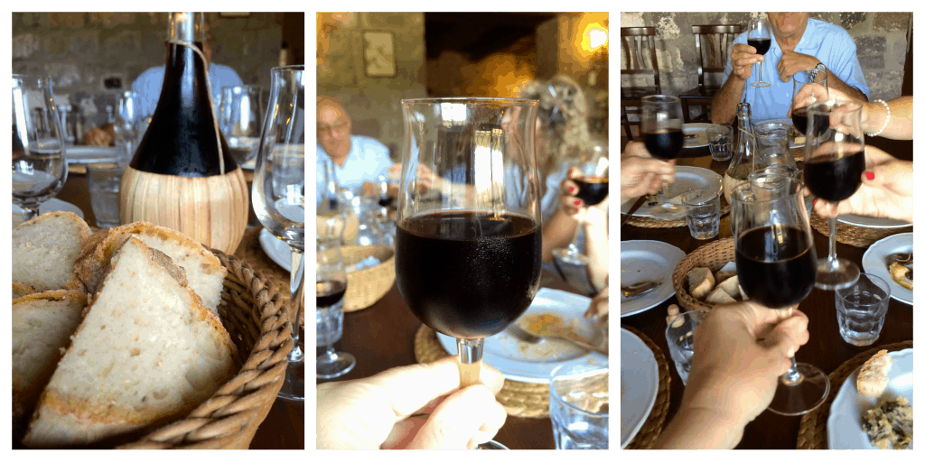 Wine at Il Contadino
