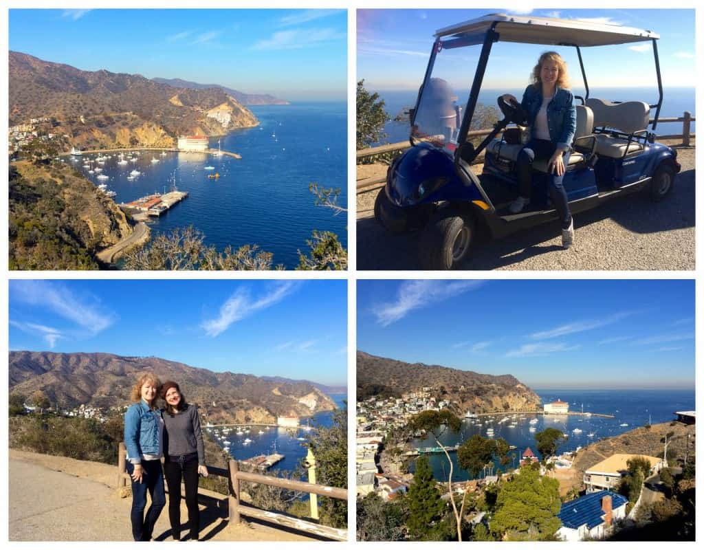 Christina and Maria's golf cart tour of Avalon